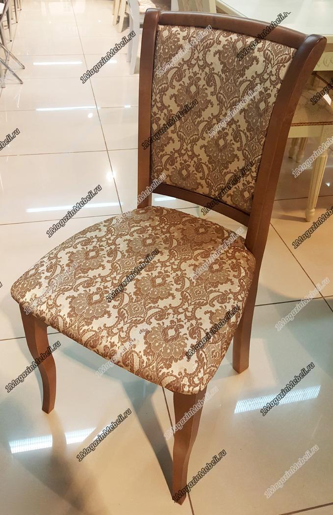 Изящный стул для гостиной, дуб ткань 31, натуральное дерево  (арт. М3261)