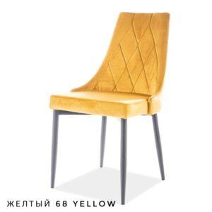 Стул NEPAL BLUVEL желтый М3506-01