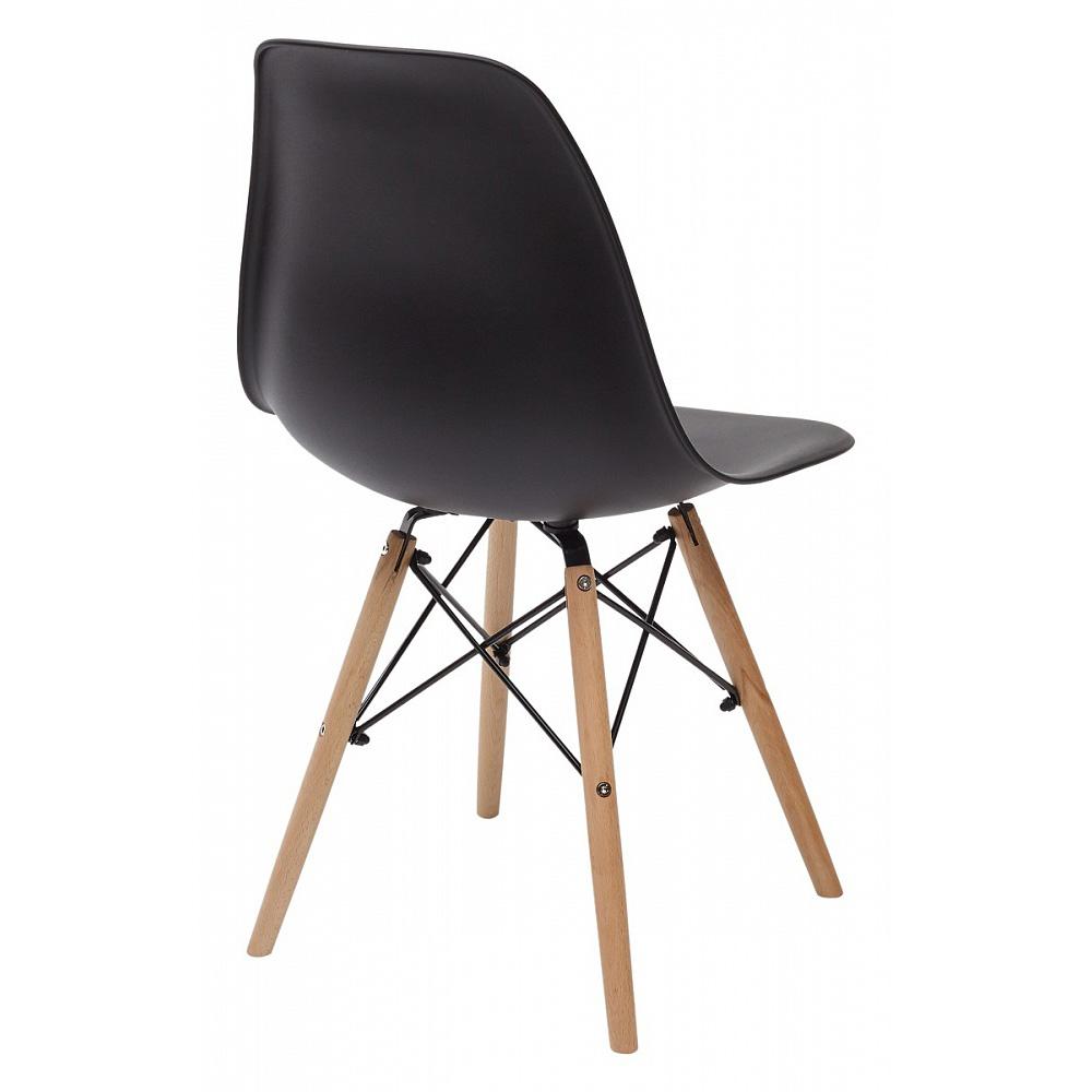 Черный пластиковый стул для кухни (арт. М3414)