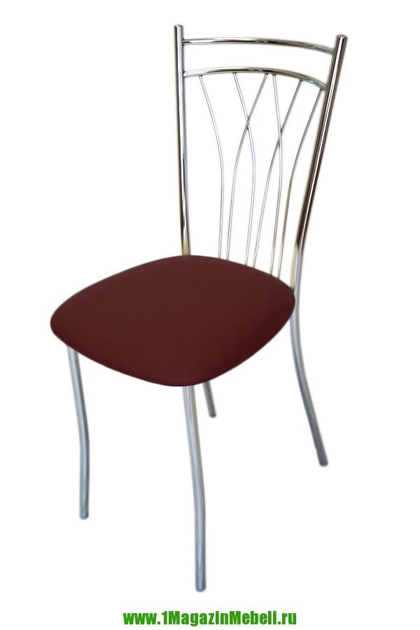 Кухонный стул для стеклянного стола, цвет бордовый (арт. М3181)