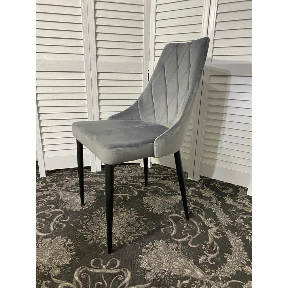 Кухонный стул, серый, мягкий (арт. М3509)