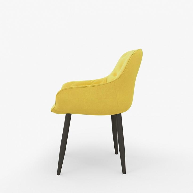 Современный желтый стул для кухни (арт. М3407)