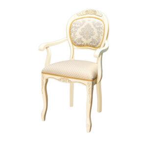 Стул кресло с подлокотниками деревянный М3581