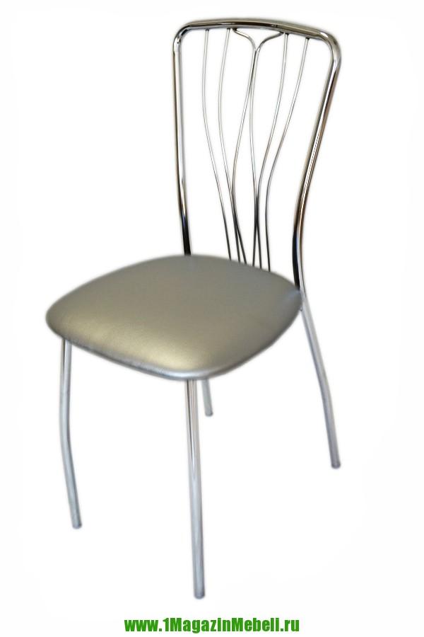 Стул для кухни, цвет серебро, металлический (арт. М3150)