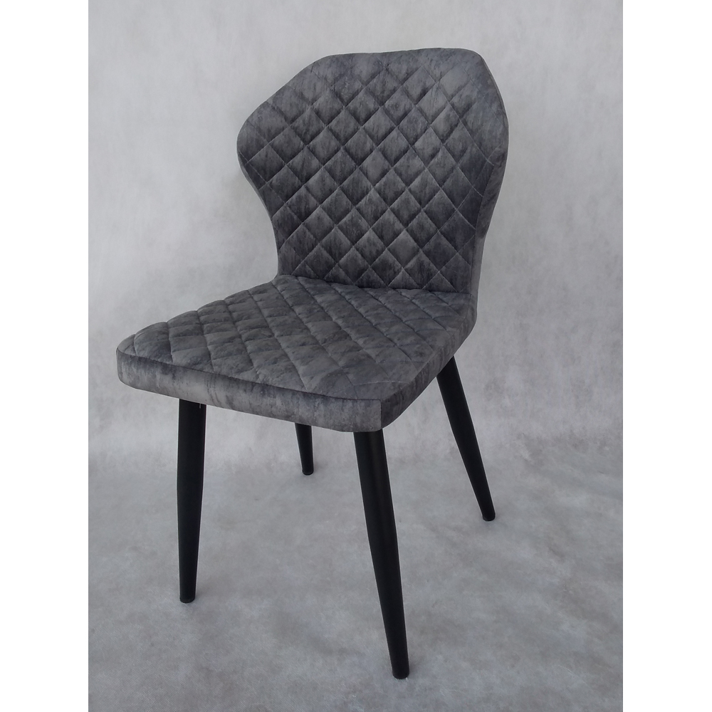 Мягкий стул с черными ножками (арт. М3498)