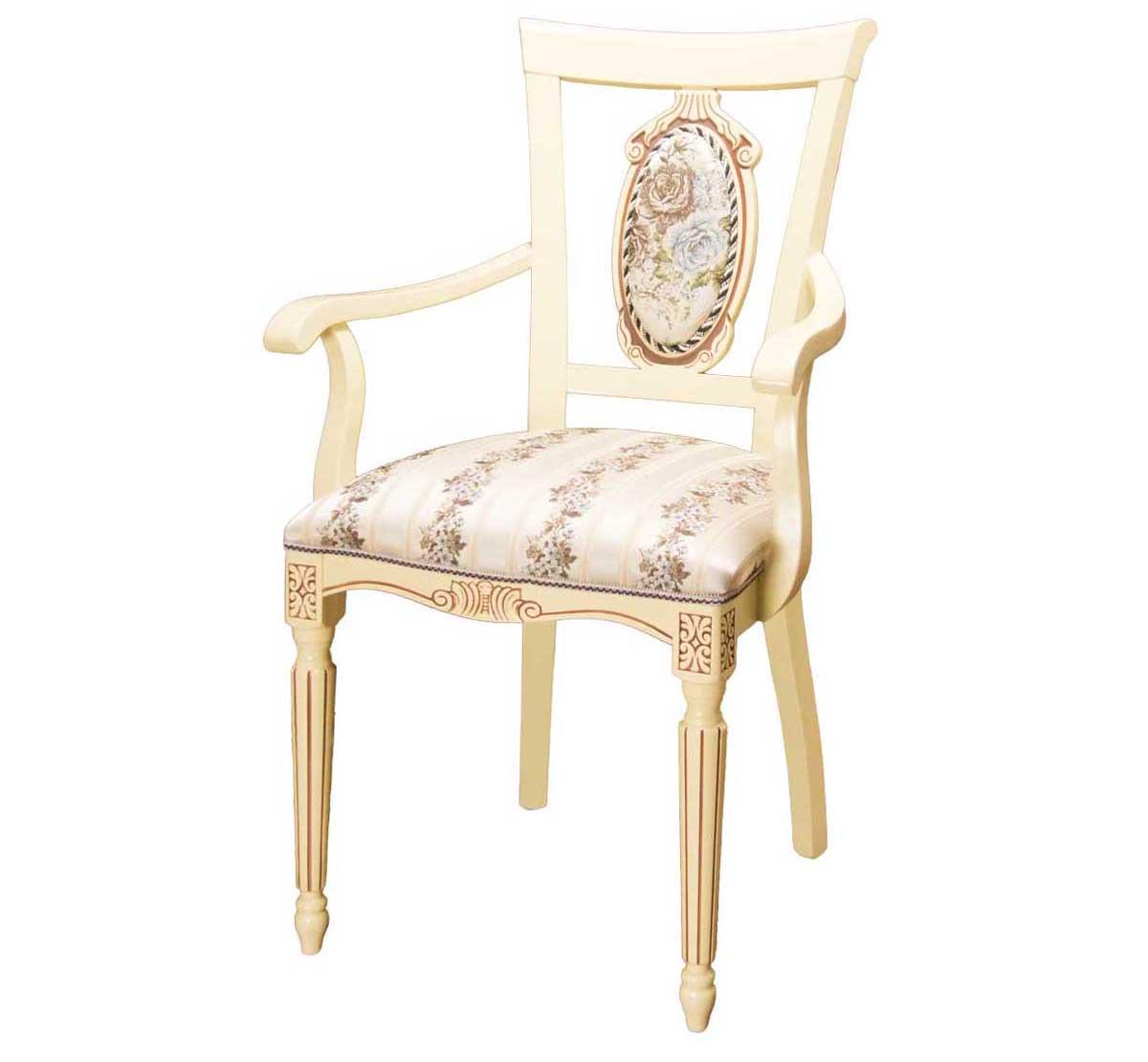 Кресло с подлокотниками С-11 из дерева (арт. М3350)