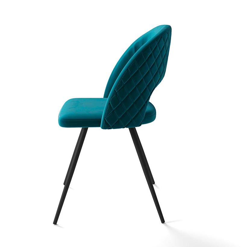 Стильный стул для кухни, цвет зеленый (арт. М3410)