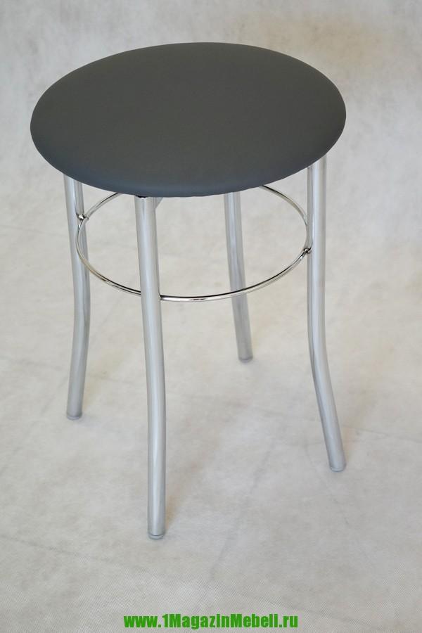 Табурет на кухню на металлокаркасе цвет серый (арт. М3110)