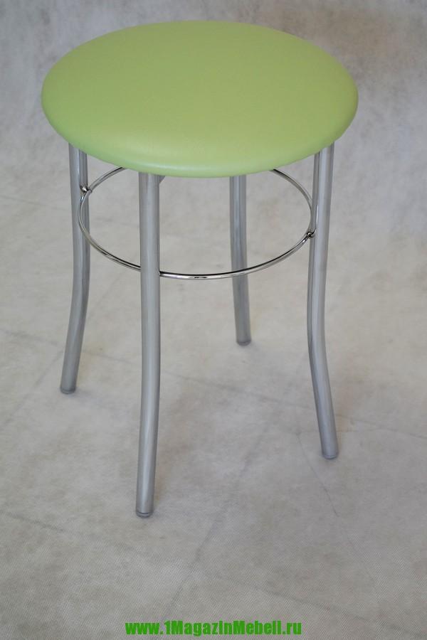 Табуретка для кухни металлическая, цвет салатовый (арт. М3121)