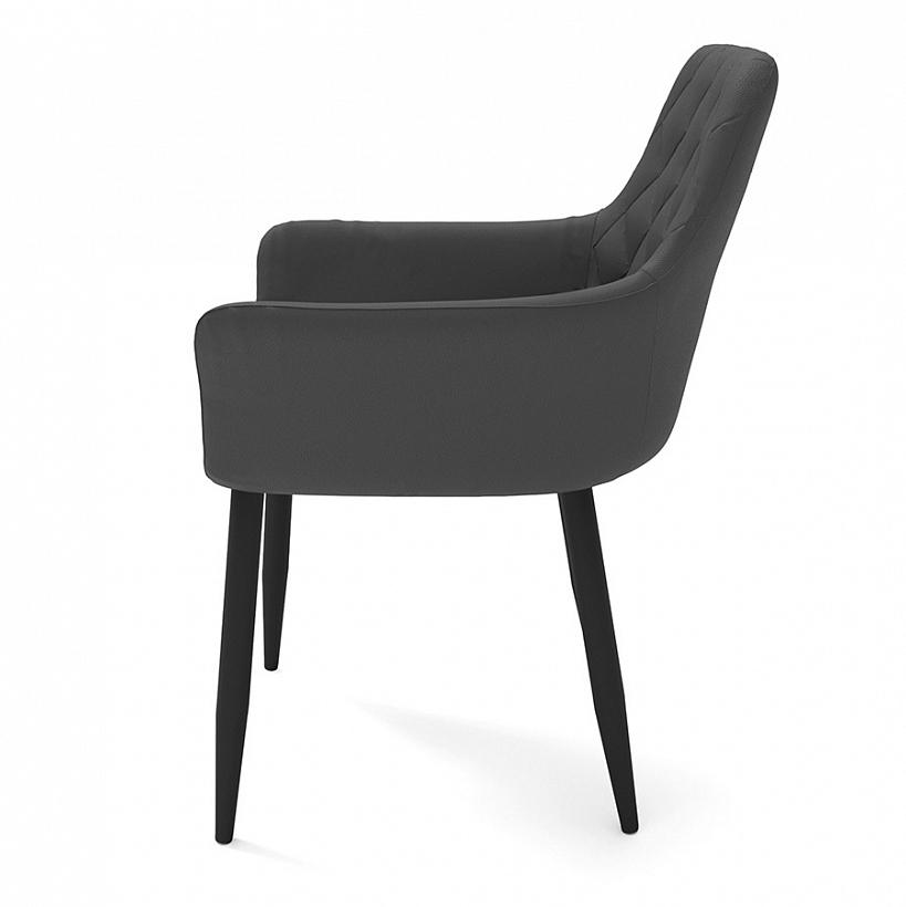 Удобный стул с подлокотниками, цвет серый (арт. М3366)