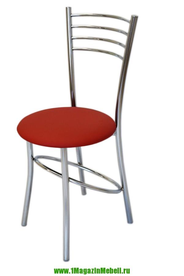 Стул для кухни цвет красный, металлический (арт. М3202)