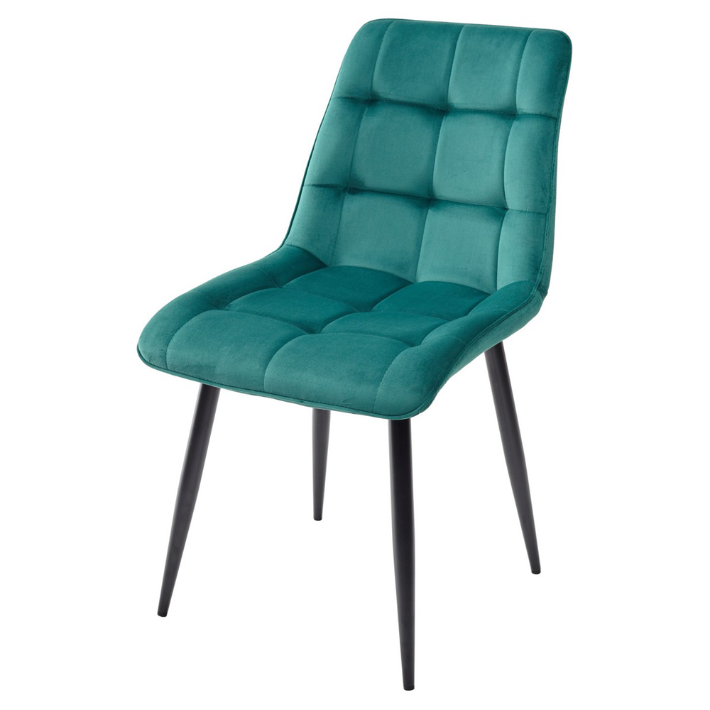 Стул для кухни зеленый с мягким сиденьем (арт. М3517)