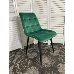 Зеленый мягкий стул для кухни М3517