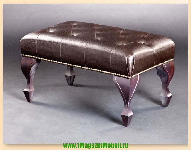 Банкетка для спальни 501034, темный шоколад (арт. М2040)