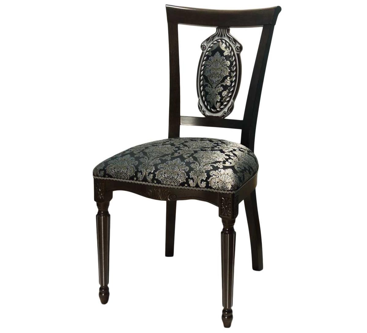Черный деревянный стул (арт. М3341)
