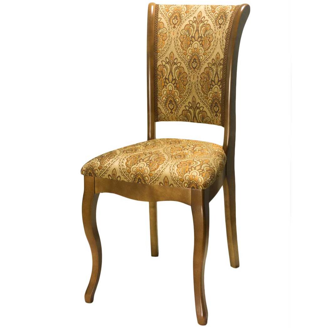 Недорогой деревянный стул для кухни, ткань (арт. М3276)