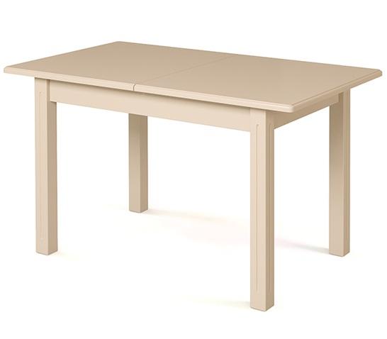 Стол из дерева раздвижной, слоновая кость 130-180 см. (арт. М4274)
