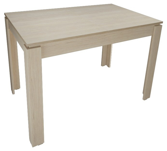 Недорогой кухонный стол, бежевый нераздвижной 110х70 см.(арт. М4373)