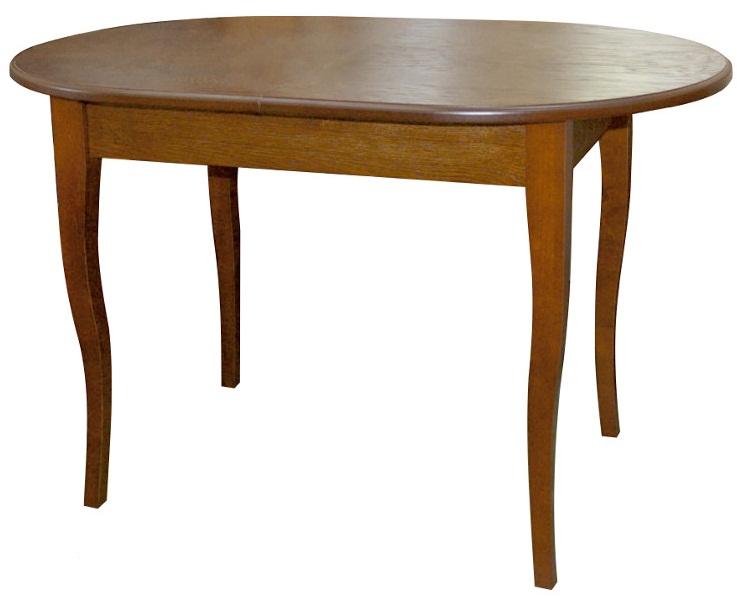 Обеденный стол, цвет и дерево дуб, раздвижной 120 см. (арт. М4296)