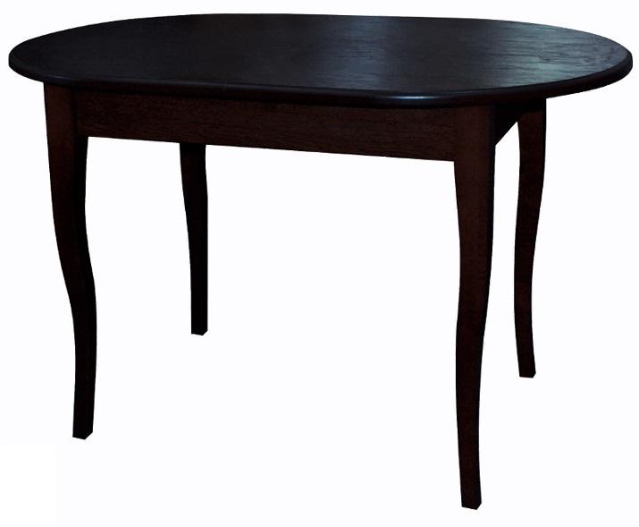 Стол венге обеденный, овальный раздвижной 120-150 см. (арт. М4295)