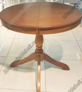 Стол Медведь цвет дуб, круглый 85 см. м4254