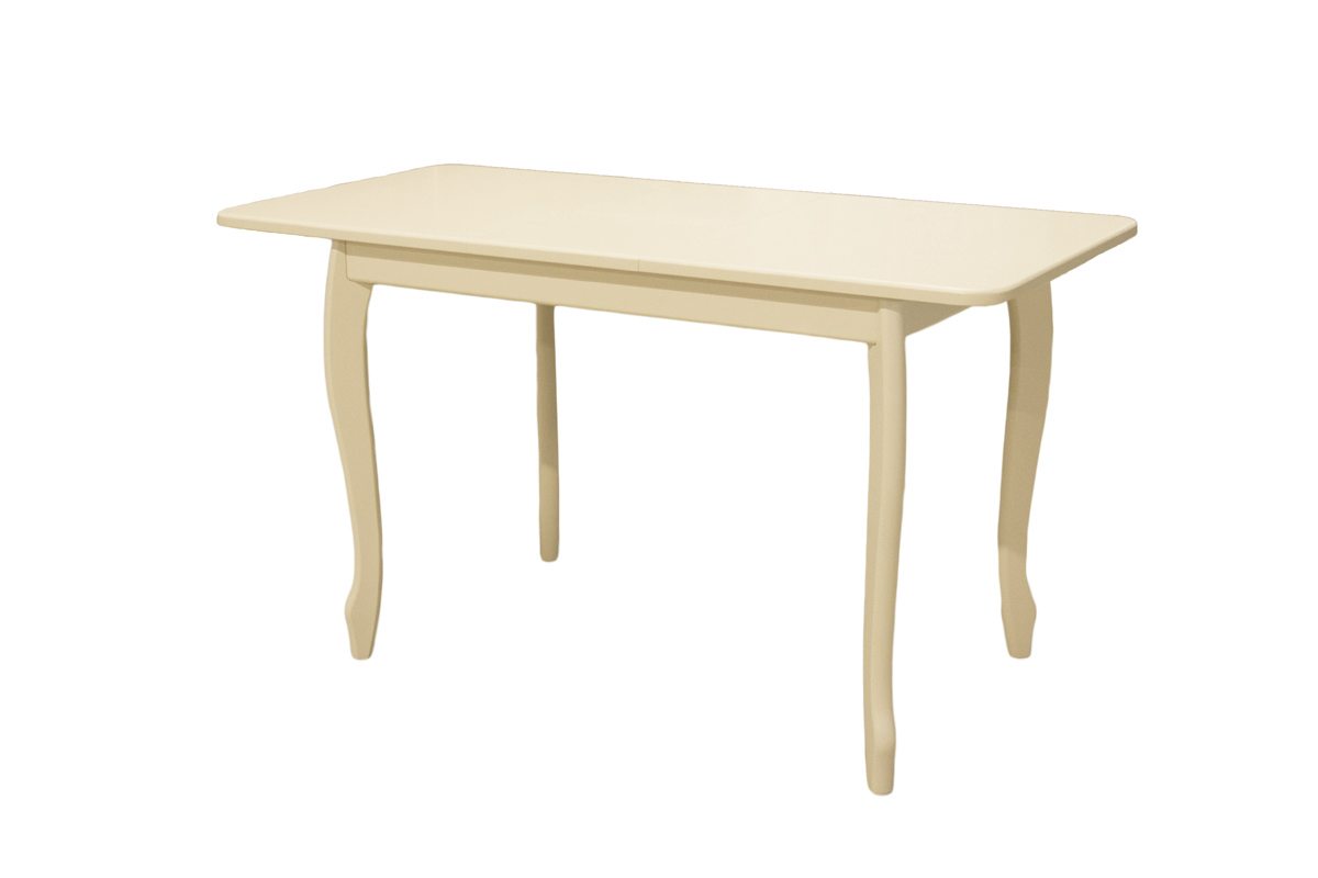 Стол обеденный слоновая кость раздвижной прямоугольный (арт. М4293)