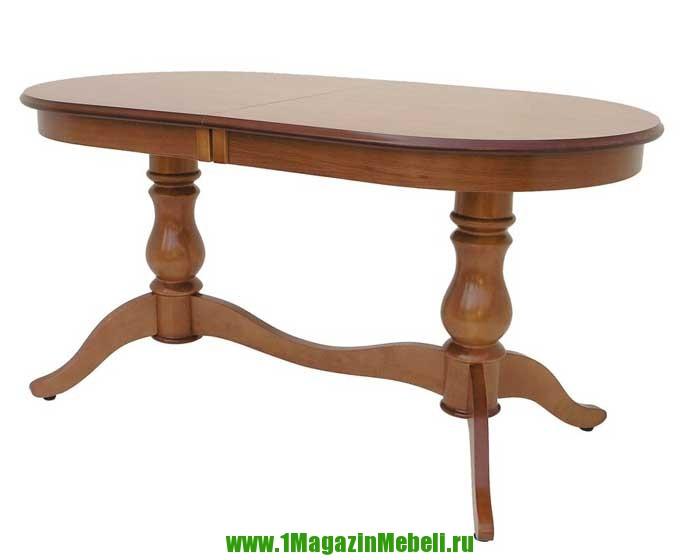 Стол кухонный 150-190 см. из дерева, цвет орех Альт 11-11 (арт. М4180)