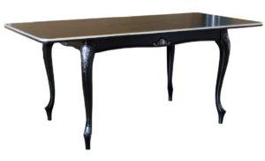 Стол деревянный классический черный м4399