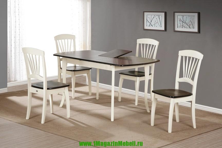 Стол кухонный 3248 E4 деревянный 120 на 80 см. (арт. М4157)
