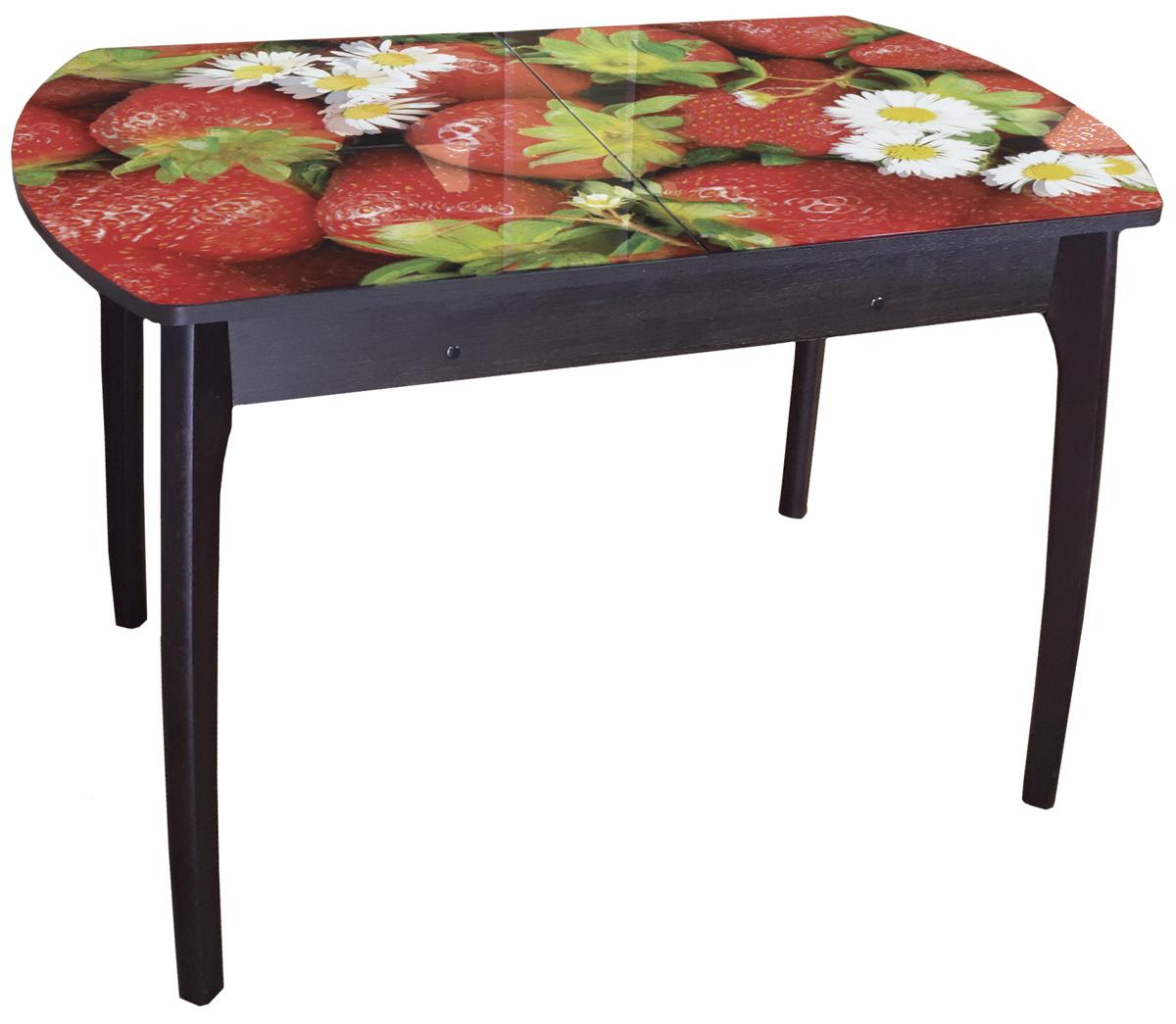 Стол обеденный Грация фотопечать стеклянный (арт. М4368)