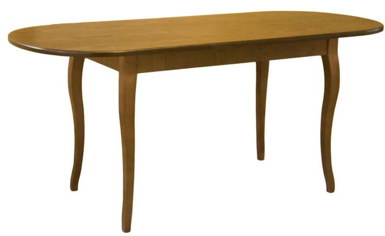 Стол овальный раздвижной деревянный светлый орех СО-13, 130 см. (арт. М4412)