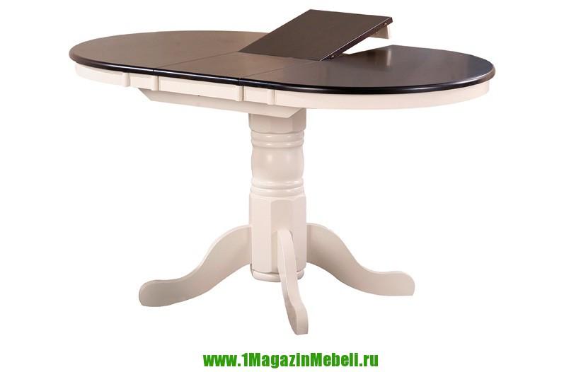 Стол обеденный 3242-f крем+капучино, деревянный (арт. М4018)