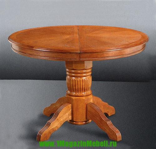 Круглые деревянные столы, раскладные, 4260 STP (арт. М4052)