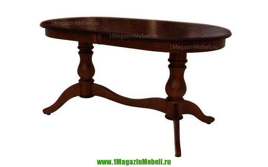 Большой кухонный стол из дерева Альт 11-11 тон 9 (арт. М4182)