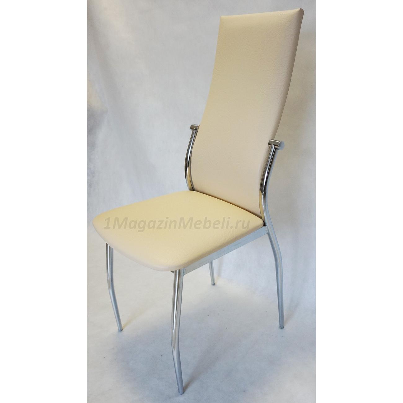 Мягкий и удобный стул для кухни цвет ваниль, бежевый (арт. М3221)