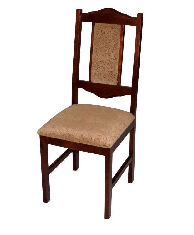 Недорогой стул для кухни из дерева ткань флок (арт. М3255)