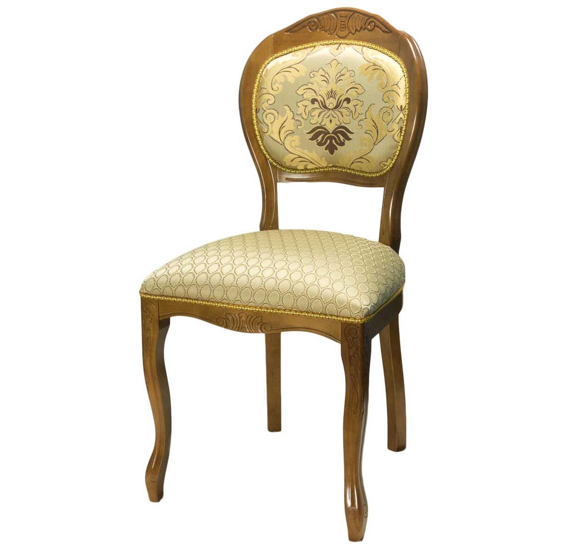 Кухонный стул в стиле классика, цвет орех С-10 (арт. М3293)