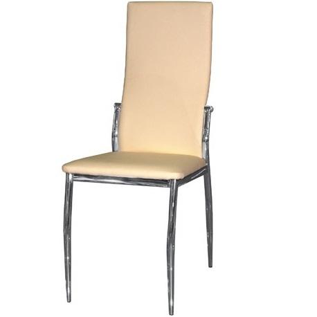 Бежевый стул для кухни с высокой и удобной спинкой (арт. М3235)