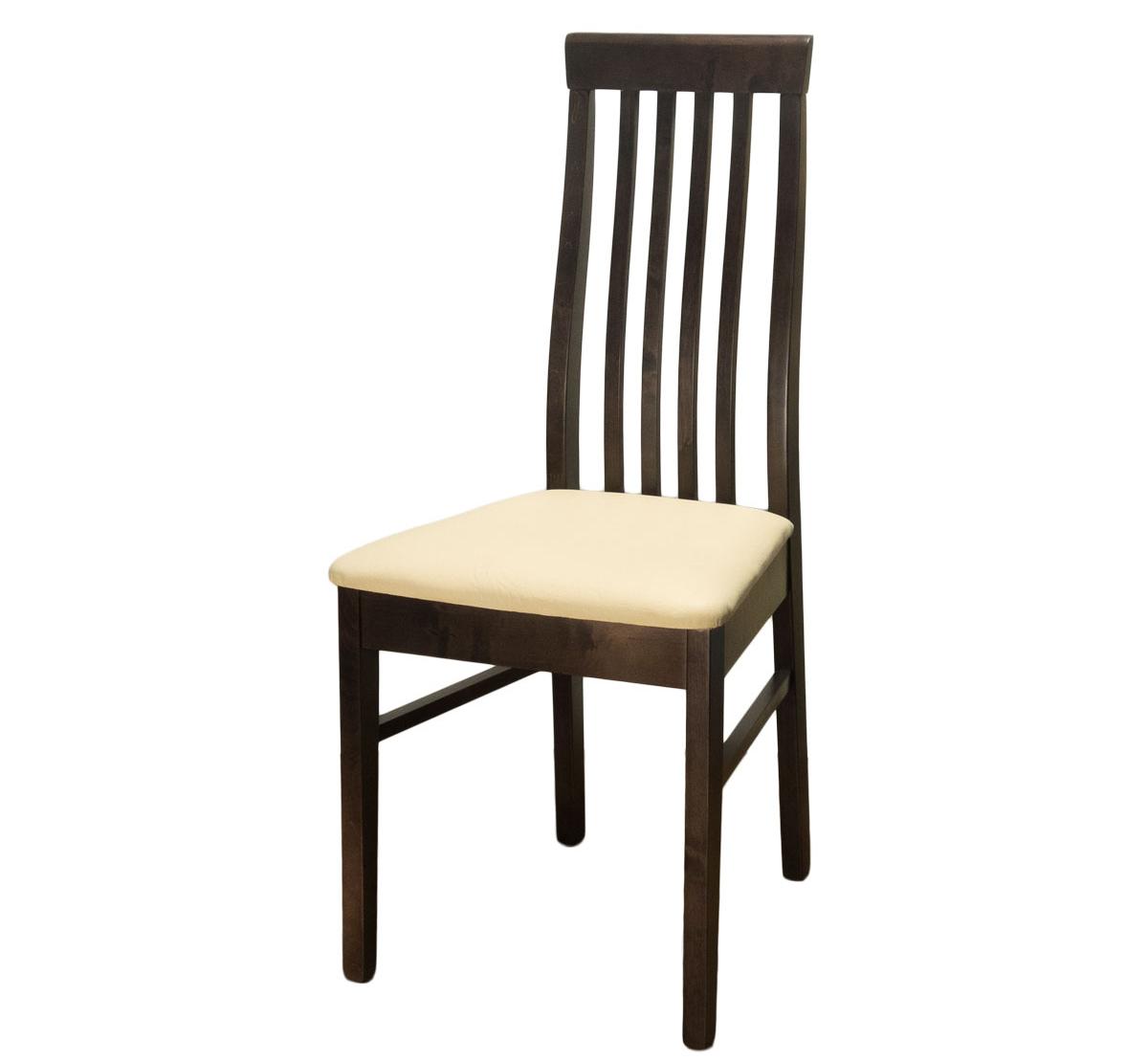 Стул для кухни деревянный, сиденье искусственная кожа (арт. М3204)