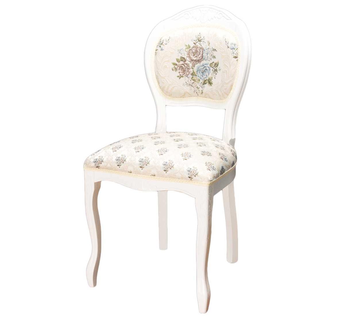 Белый классический стул из дерева бука С-10 (арт. М3295)