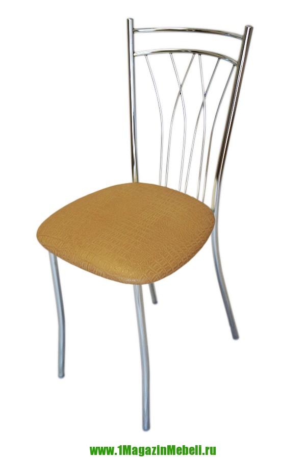 Обеденные стулья, металлические желтый крокодил (арт. М3154)