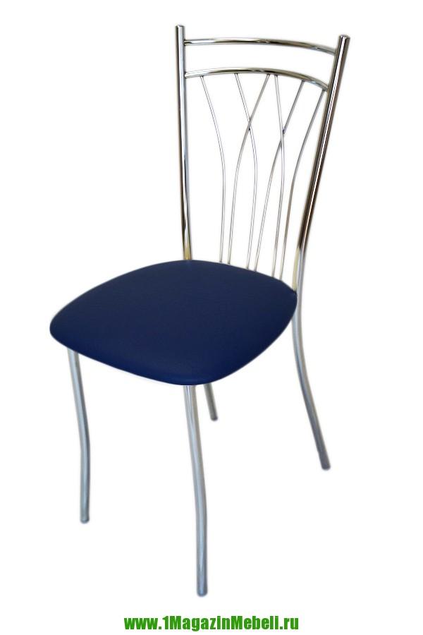 Стулья для кухни, металлические цвет синий (арт. М3179)