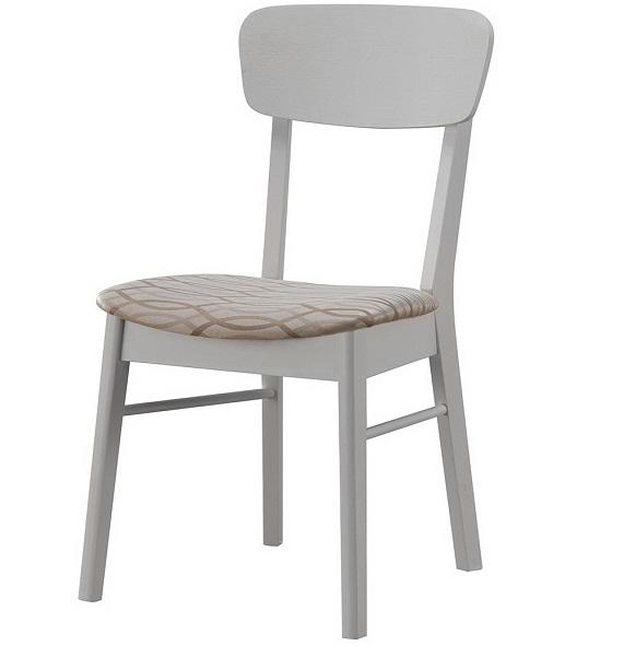 Стул для кухни деревянный, слоновая кость — BUTTER WHITE (арт. М3239)