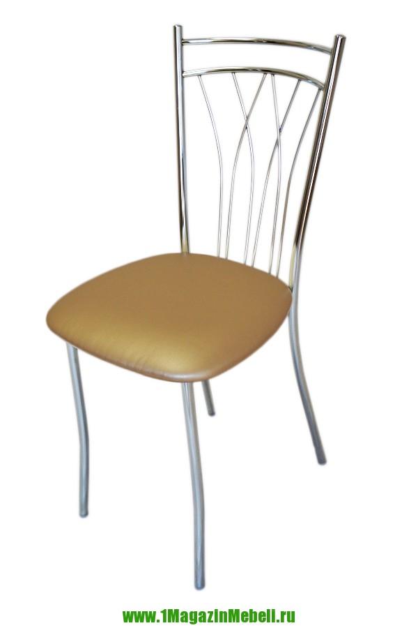 Обеденные стулья металлические, перламутровые (арт. М3167)