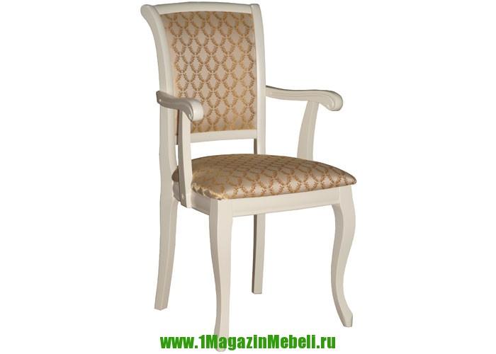 Кресло деревянное Сибарит 16 тон 23 ткань 132 (арт. М3077)