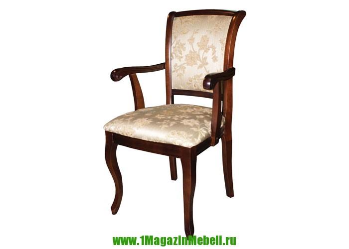 Стул кресло деревянное с подлокотниками Сибарит 16 цвет 9.94 (арт. М3076)