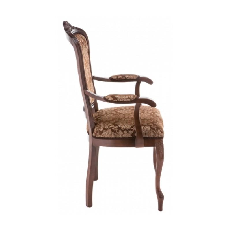 Кресло Руджеро с мягкими подлокотниками орех шоколад (арт. М3361)
