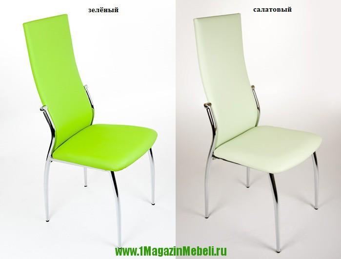 Кухонные стулья, металлические зеленые JD2368 (арт. М3084)
