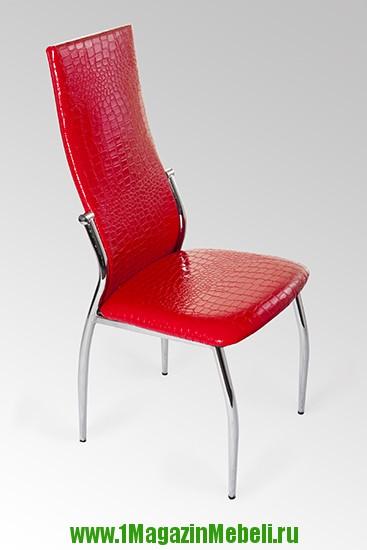 Стул металлический, красный крокодил, JD2368 (арт. М3165)