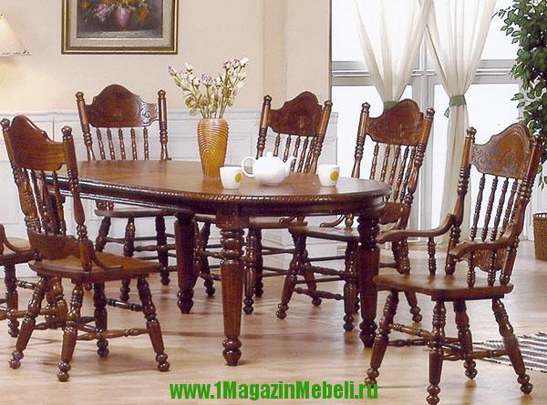 Стол 4280 SWL с закругленными углами, деревянный (арт. М4030)